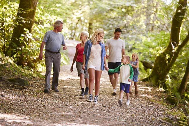Familien-Schnupper-Waldbad