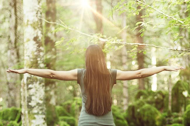 Waldbaden für Frauen  – Auszeit vom stressigen Alltag, Zeit für sich