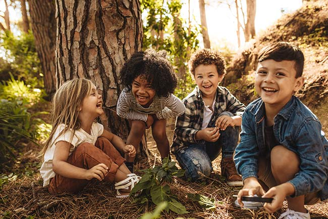 Kinder-Waldbadekurs - 5-7  Jahre